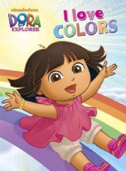 I Love Colors (Board book)