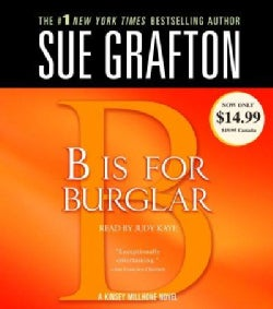 B Is for Burglar (CD-Audio)