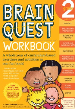 Brain Quest Workbook Grade 2 (Paperback)