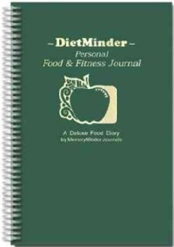 Dietminder: Personal Food & Fitness Journal (Spiral bound)