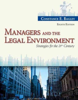 Managers and the Legal Environment: Strategies for the 21st Century (Hardcover)