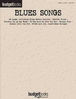 Blues Songs: Piano/ Vocal/ Guitar (Paperback)