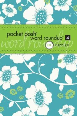 Pocket Posh Word Roundup 4: 100 Puzzles (Paperback)