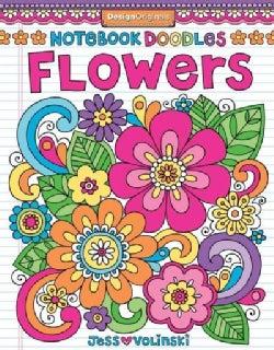 Notebook Doodles Flowers (Notebook / blank book)