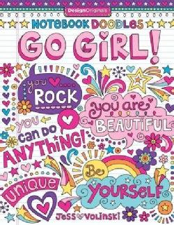 Notebook Doodles Go Girl! (Paperback)