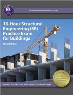 16-hour Structural Engineering Practice Exam for Buildings (Paperback)