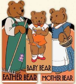 The Bear Family: 3 Shaped Books: Baby Bear, Mother Bear, Father Bear (Paperback)