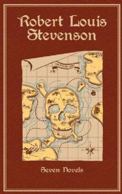 Robert Louis Stevenson: Seven Novels: Treasure Island / Princo Otto / Strange Case of Dr. Jekyll and Mr. Hyde / K... (Hardcover)