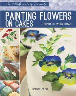 Painting Flowers on Cakes (Paperback)