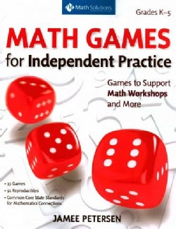 Math Games for Number and Operations and Algebraic Thinking: Games to Support Independent Practice in Math Worksh... (Paperback)