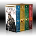 Game of Thrones Boxed Set: A Game of Thrones/A Clash of Kings/A Storm of Swords/A Feast for Crows (Paperback)