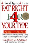 Eat Right for Your Type: The Individualized Diet Solution to Staying Healthy, Living Longer & Achieving Your Idea... (Hardcover)