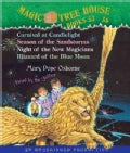 Magic Tree House Books 33-36: Carnival at Candlelight/Season of the Sandstorms/Night of the New Magicians/Blizzard... (CD-Audio)