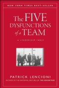 The Five Dysfunctions of a Team: A Leadership Fable (Hardcover)