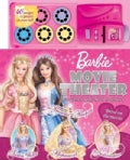 Barbie Movie Theater Storybook with Movie Projector (Hardcover)