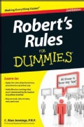 Robert&#39;s Rules for Dummies (Paperback)
