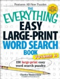 The Everything Easy Large-Print Word Search Book: 150 Large-Print Easy Word Search Puzzles (Paperback)