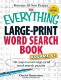 The Everything Large-Print Word Search Book: 150 Easy-to-Read Large-Print Word Search Puzzles (Paperback)