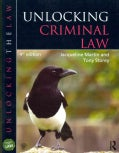 Unlocking Criminal Law (Paperback)