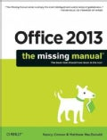 Office 2013: The Missing Manual (Paperback)