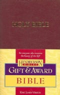 The Holy Bible: King James Version, Burgundy, Imitation Leather, Gift & Award (Paperback)