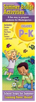 Summer Bridge Activities Preschool: Grades PK-K (Cards)