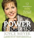 Power Thoughts: 12 Strategies to Win the Battle of the Mind (CD-Audio)