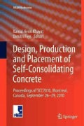 Design, Production and Placement of Self-consolidating Concrete: Proceedings of Scc2010, Montreal, Canada, Septem... (Paperback)