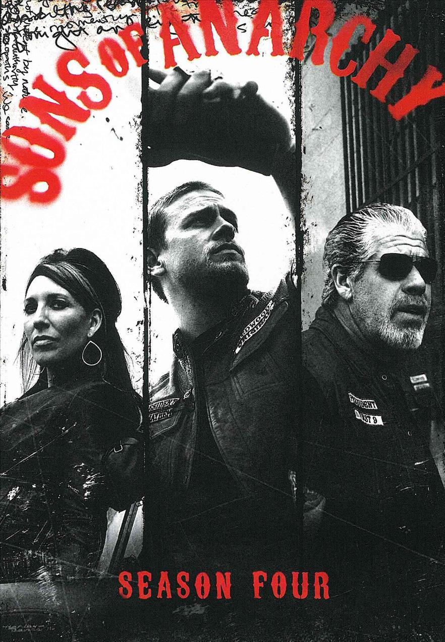 Sons Of Anarchy: Season 4 (DVD)