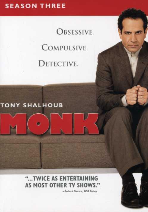 Monk: Season Three (DVD)