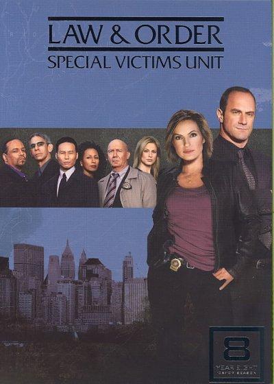 Law & Order: Special Victims Unit Season 8 (DVD)