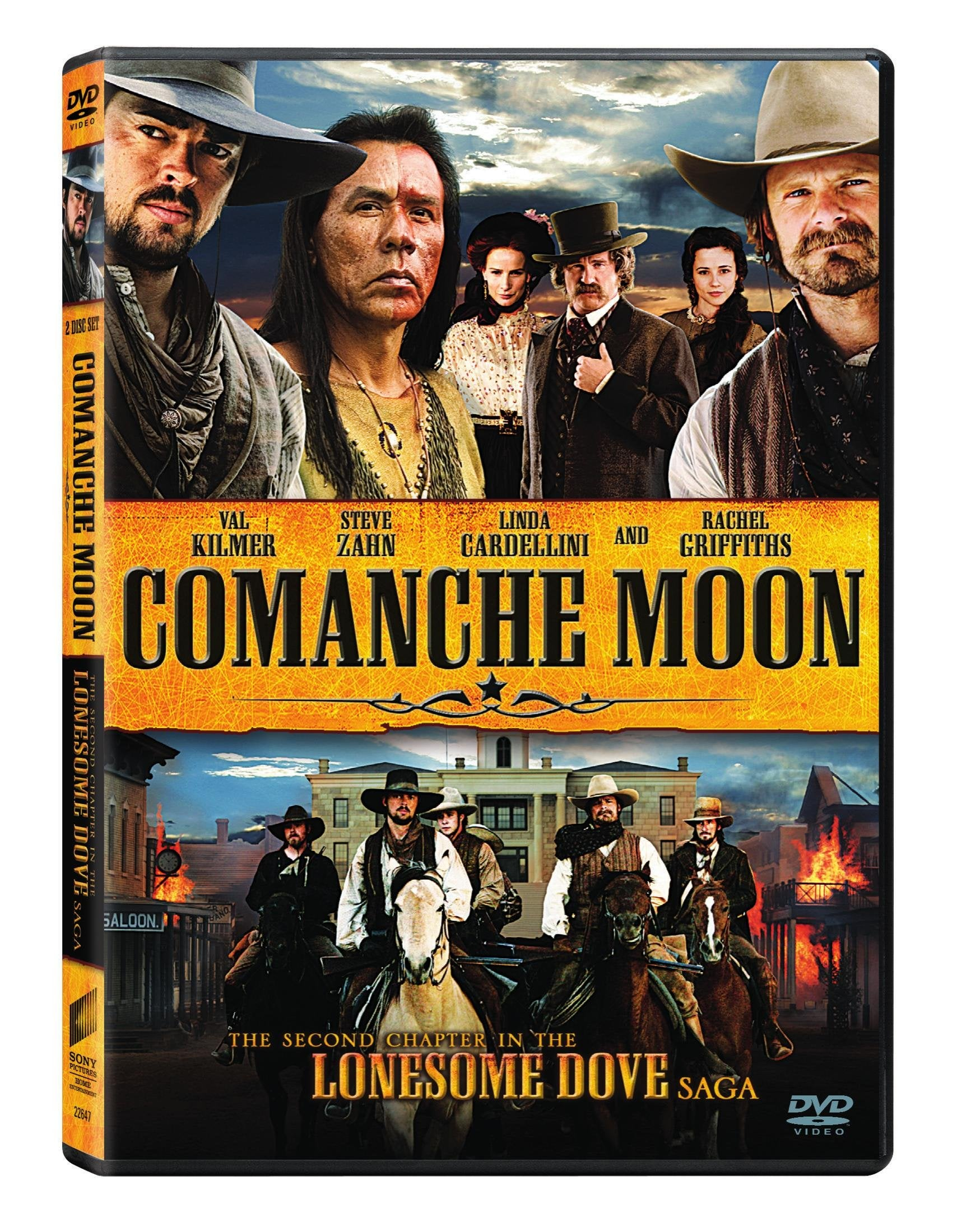 Comanche Moon: The Second Chapter in the Lonesome Dove Saga (DVD)