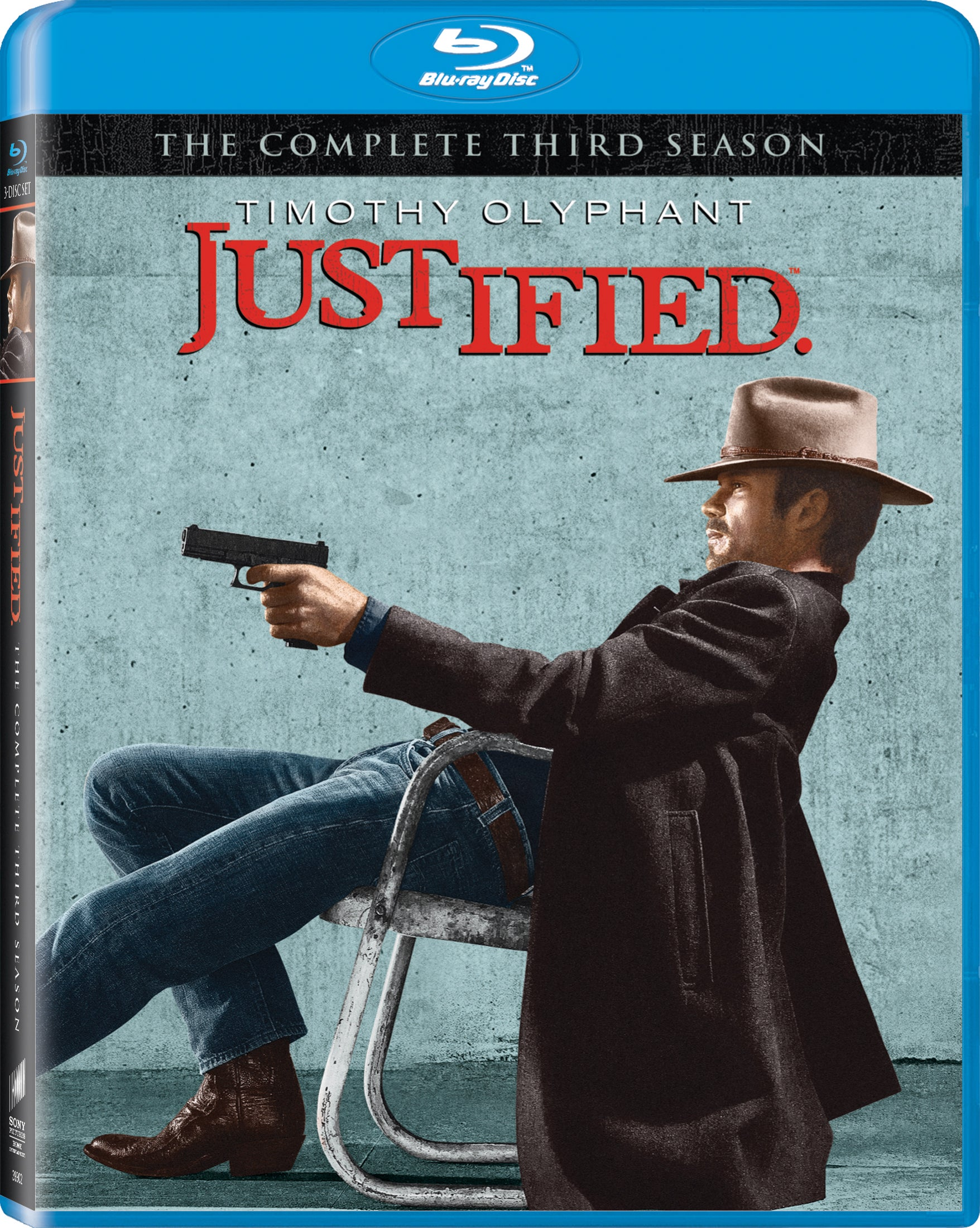Justified: The Complete Third Season (Blu-ray Disc)