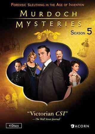 Murdoch Mysteries Collection: Season 5 (DVD)