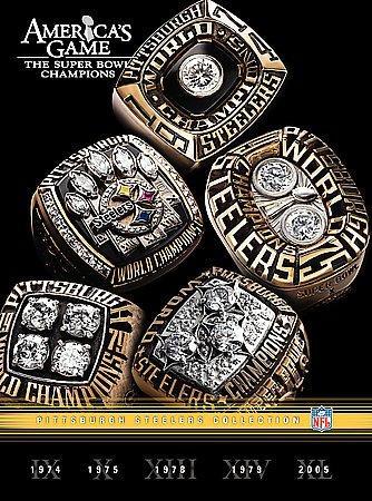 NFL Americas Game: Pittsburgh Steelers (DVD)