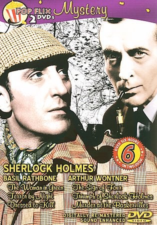 6-Movie Sherlock Double (DVD)