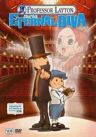 Professor Layton And The Eternal Diva (DVD)