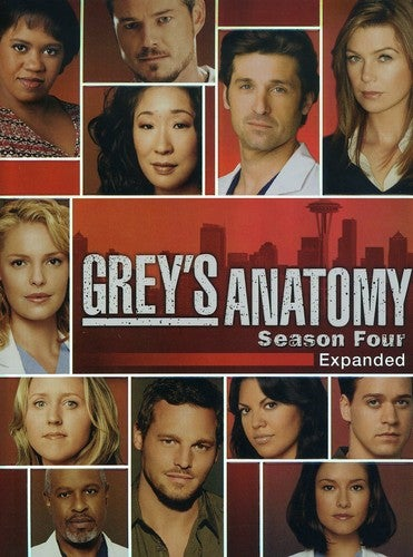 Grey's Anatomy: Season 4 (Expanded) (DVD)