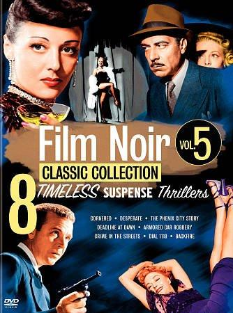 The Film Noir Classics Collection Volume 5 (DVD)