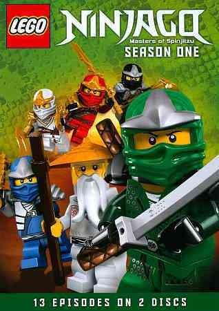 LEGO Ninjago: Masters Of Spinjitzu Season One (DVD)