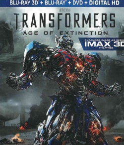Transformers: Age Of Extinction 3D (Blu-ray/DVD)