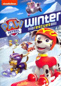 Paw Patrol: Winter Rescues (DVD)
