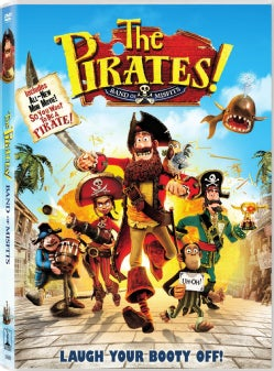 The Pirates! Band of Misfits (DVD)