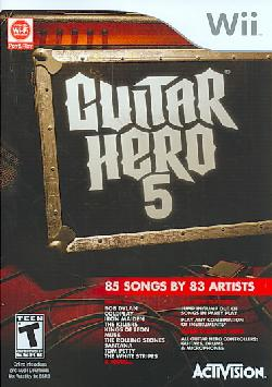 Wii - Guitar Hero 5 (game only)