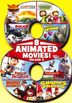 8 Feature Compilation: Kids Animated: Vol. 3 (DVD)