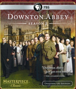 Masterpiece Classic: Downton Abbey Season 2 (Original U.K. Unedited Edition) (Blu-ray Disc)