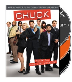 Chuck: The Complete Fifth Season (DVD)