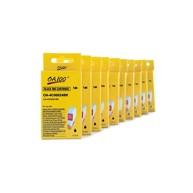 Ink Cartridge Combo for Canon BCI-24 (Pack of 10)