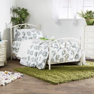 Furniture of America Bridelle Princess Style Metal Twin Bed