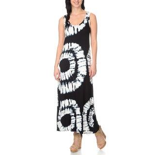 Chelsea & Theodore Women's Tie Dye Maxi Dress